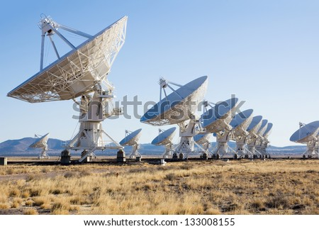 Very Large Array (VLA) is a radio astronomy observatory