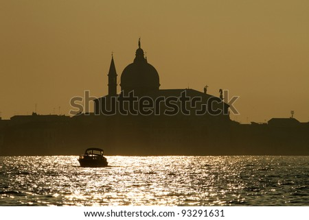 View of Venice - stock photo