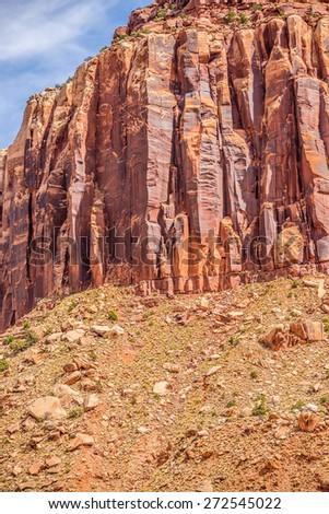 views of Canyonlands National Park - stock photo