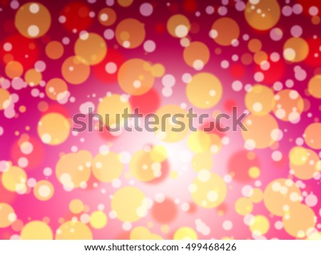 Vintage Magic Background With Color Festive background with natural bokeh and bright golden lights. Vintage Magic background with colorful bokeh. Spring Summer Christmas New Year disco party