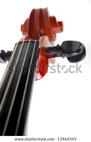 Violin part - stock photo