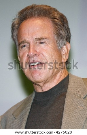 Warren Beatty - stock photo