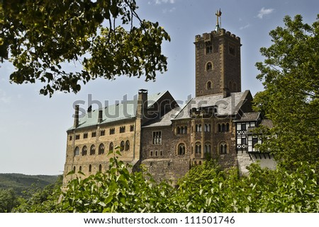 Wartburg UNESCO, Germany - stock photo