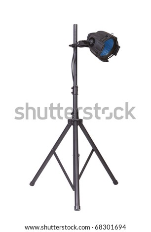 750 Watt PAR lighting fixture used in theatrical and stage productions and in the motion picture industry. - stock photo