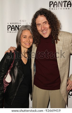 "'Weird Al' Yankovic at the ""Rock Of Ages"" Opening Night, Pantages Theater, Hollywood, CA. 02-15-11"