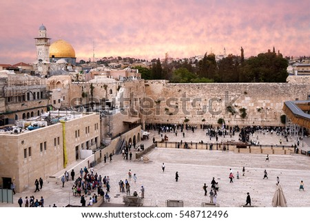 2016-05-04  Western Wall and Dome of the Rock, Jerusalem, Israel