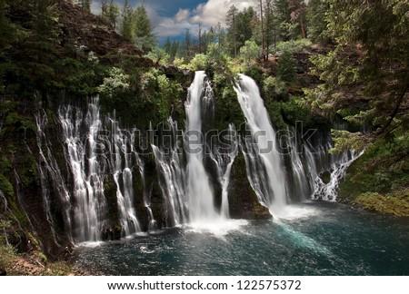 Western Waterfalls 21 - stock photo