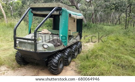 8 wheel Drive All Terrain Vehicle