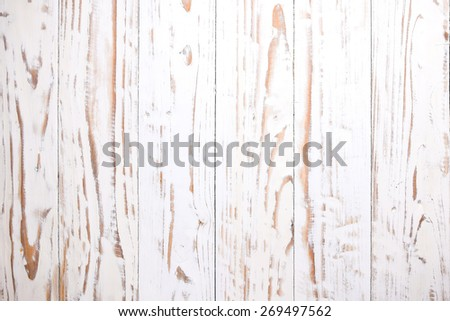 wood white texture background - stock photo