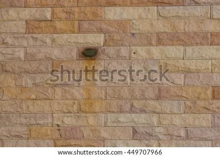 worn brick wall texture background - stock photo