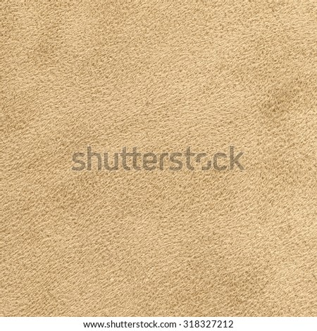 wrong side of beige leather background