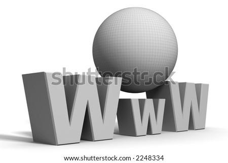 WWW concept - stock photo