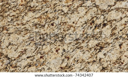 1x4ft Sample of Brazilian Santa Cecilia Gold Granite - stock photo