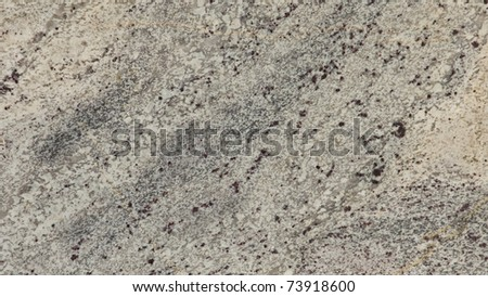 1x4ft Sample of Classic White Granite - stock photo
