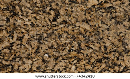 1x4ft Sample of Gialo Vicenza Granite - stock photo