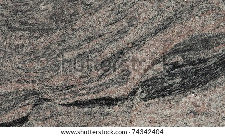 1x4ft Sample of Kihawa Granite - stock photo