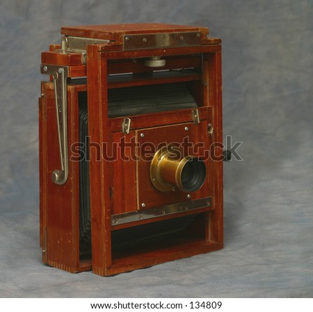5X7 wooden view camera
