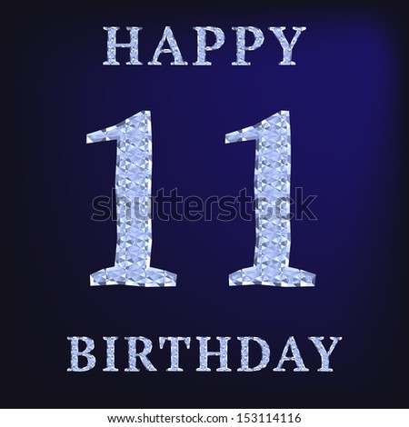 19 Years Happy Birthday Card Illustration 153114104 – Happy 19th Birthday Cards