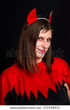 young devil woman