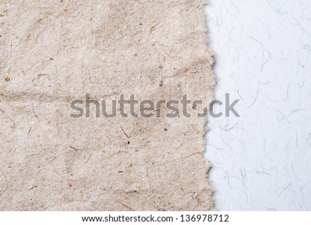 a background from textured paper - stock photo