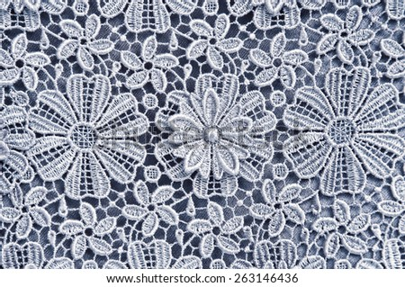 a background image of lace cloth - stock photo