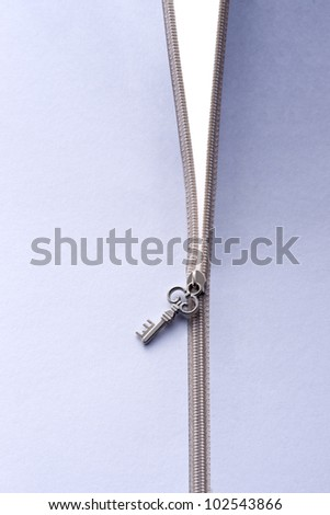 a background image of silver zipper