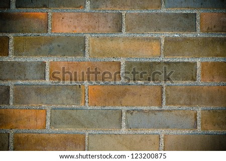 a background of brick wall, a texture