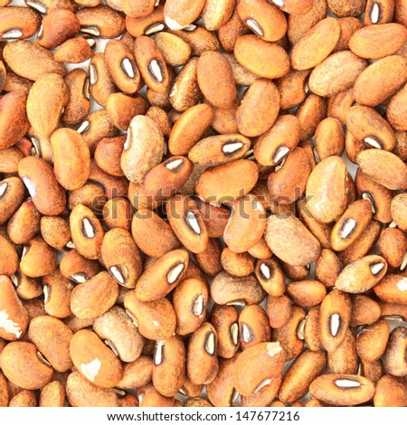 A background of  dried beans