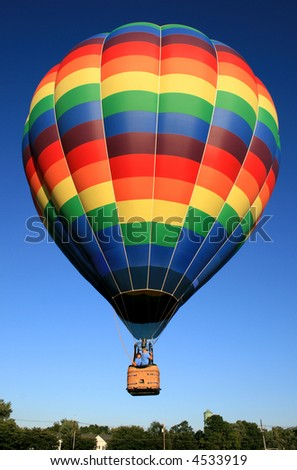 A balloon festival in New Jersey USA