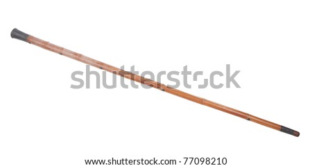 A bamboo stick for old person