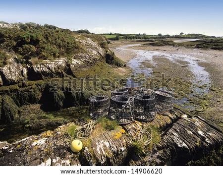 A bay on the west coast of ireland - stock photo