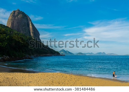 A beach at Brazil - stock photo