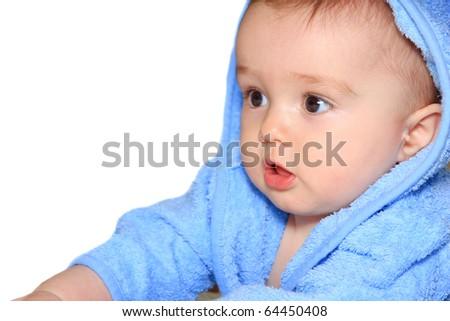 A beautiful baby - stock photo