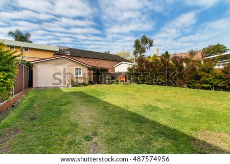 a beautiful house with a yard