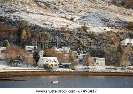 A beautiful view of Ullapool shore
