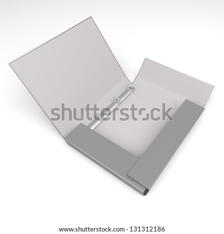 a binder on a white background