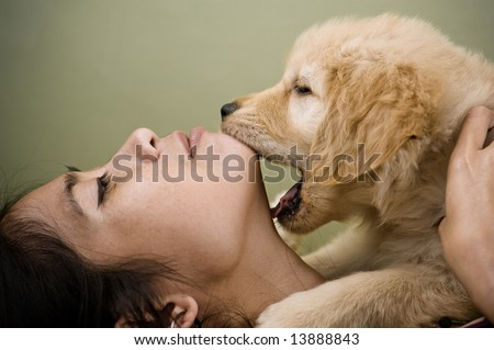 a bite of love - stock photo