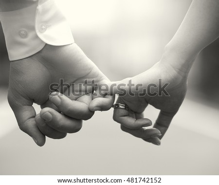 Black Women Holding Hands