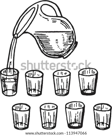 8 Glasses Of Water Stock Images, Royalty-Free Images ...