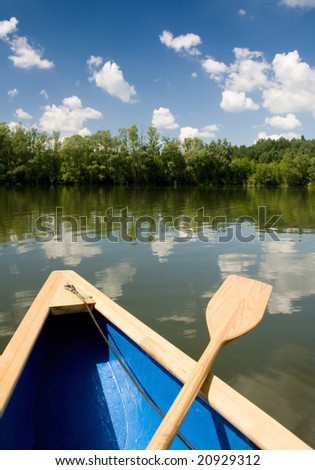 A boat trip - stock photo