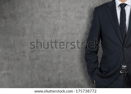 A body of businessman