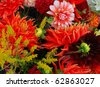 a bouquet of flowers - stock photo