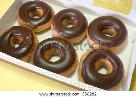 A box of donuts - stock photo