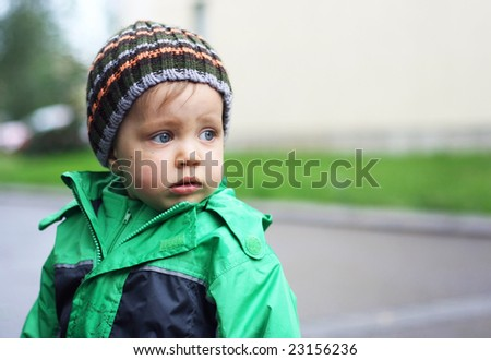 A boy - stock photo