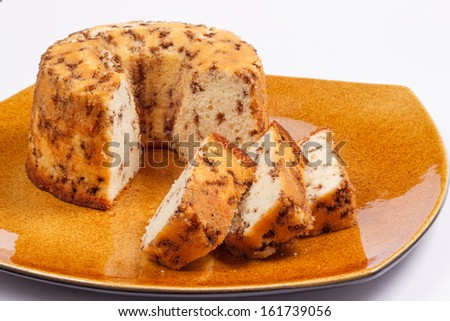 A brazilian cake called formigueiro - stock photo