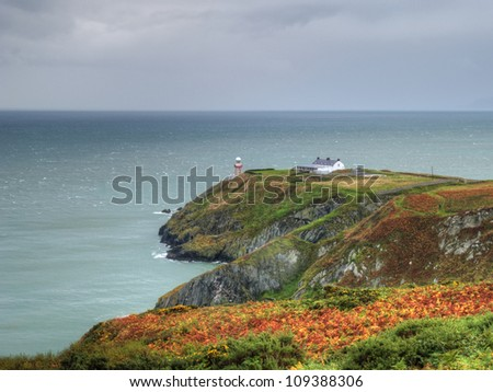 A breathtaking landscape of Ireland - stock photo