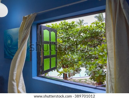 Curtains Blowing Stock Images Royalty Free Images