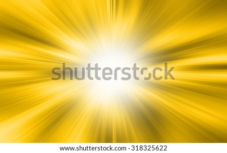 A bright gold white background - stock photo