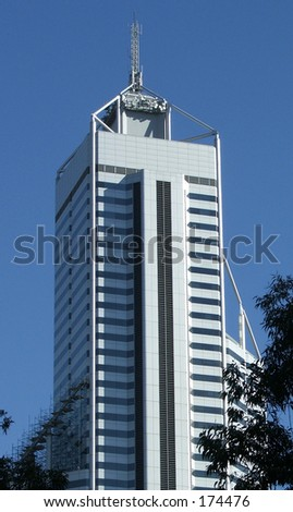 A building - stock photo