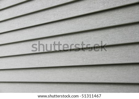 A building outside wall rain screen detail. - stock photo